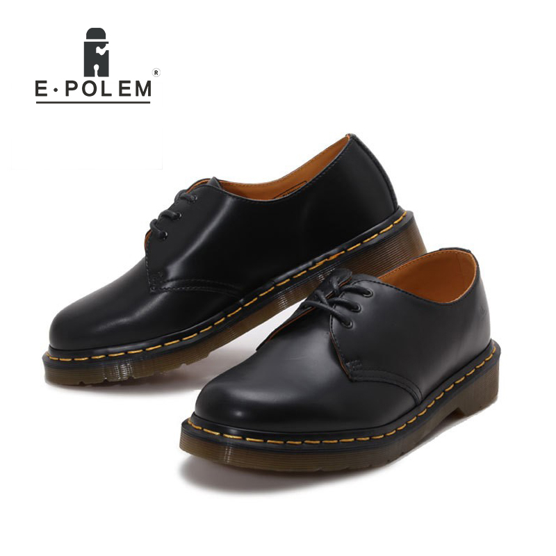 Fashion Men Dress Leather Shoes Oxford Shoes Genuine Cow Leather Flats Unisex Plus Size Black Red