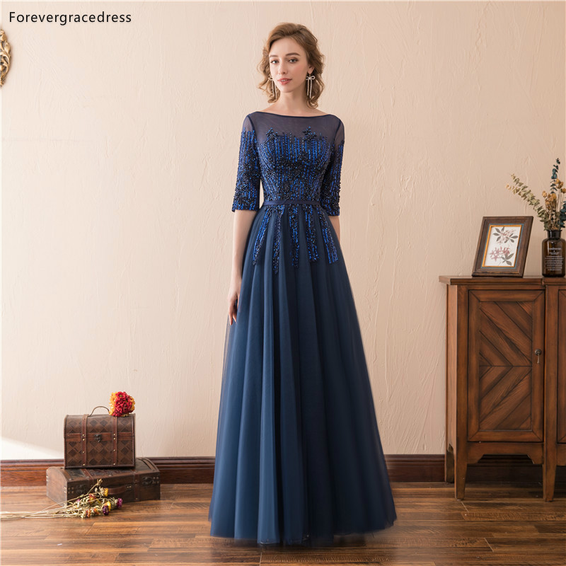 Forevergracedress Vintage Navy Blue