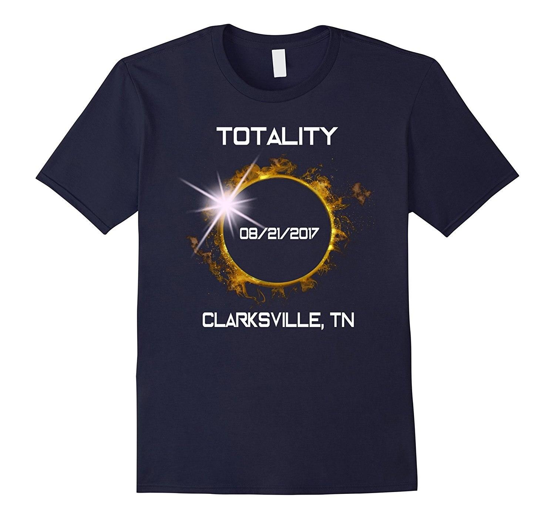 GILDAN Clarksville,TN Total Solar Eclipse August 21 2017 T Shirt Mothers Day Ms. T-shirt