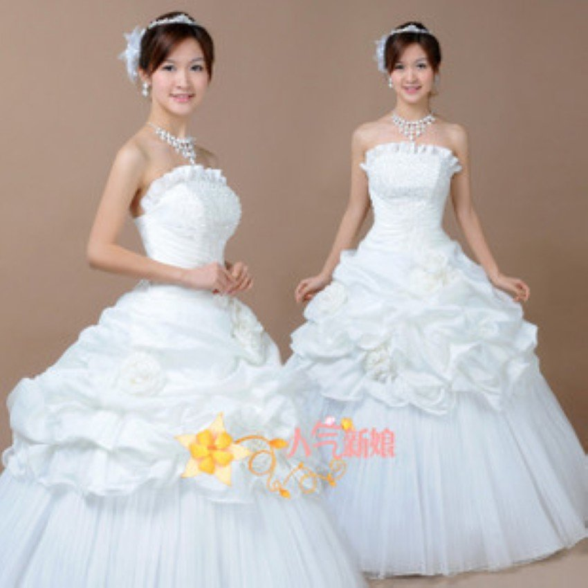 Princess Style Wedding Gowns: Promotion Fairy Princess A Line 2011 New Style Wedding