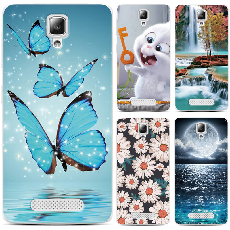"Case For Lenovo A1000 4.0"" Cute Animal Scenery Printing Patterned For Lenovo A1000 A 1000 A2800 A 2800 Case Phone Back Cover"