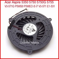 Free Shipping DETLA KSB06105HA AJ83 For Acer Aspire V3 571G 5350 5750 5750G 5755 P5WS0 P5WEO
