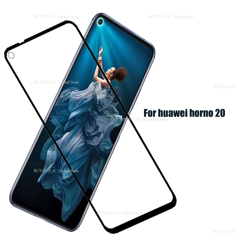 Image 2 - Protective Glass On Honor 20 Tempered Glass For Huawei Honor 20 Huaweii honor20 YAL L21 L41 Glas Screen Protector Film Cover 9H-in Phone Screen Protectors from Cellphones & Telecommunications
