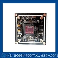 Color 1/3″ SONY 600TV CCD camera board module for CCTV camera, 2041+ 639, CCTV module IR camera board. CY-639+2041