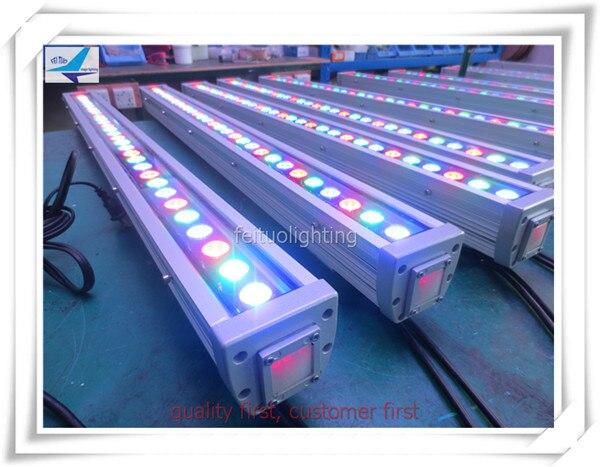 (10 шт./партия) DMX 512 управления светодиодный здания Газа свет 30x3 Вт Водонепроницаемый rgb светодиодные прожекторы Llight