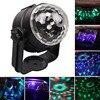 1set Auto Car USB RGB Disco DJ Stage Lighting LED Rotation Ball Light Lamp