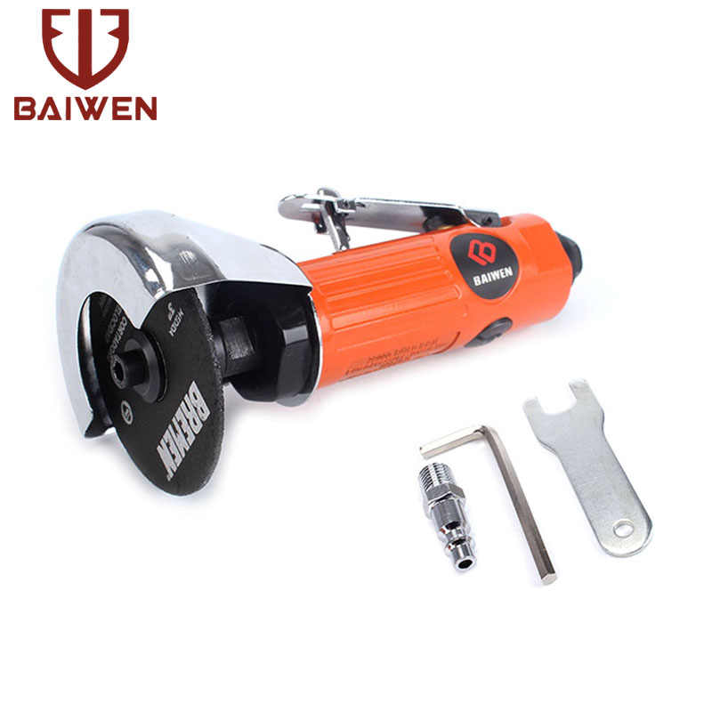 Pneumatic Cutting Machine Air Angle Grinder Cutter Grinding Tool Long Handle 1PC