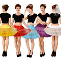 Short girl Tutu Bridal Petticoat Crinoline Underskirt Wedding Dress Skirt Slips Waist adjustable