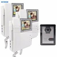 800 X 480 HD 4 3inch Video Intercom Video Door Phone Doorbell 600TV Line Outdoor Unit