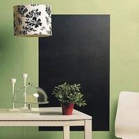 Large Chalkboard Wall Sticker Removable Blackboard Decal 200x45cm 5 Chalks Office & School Supplies