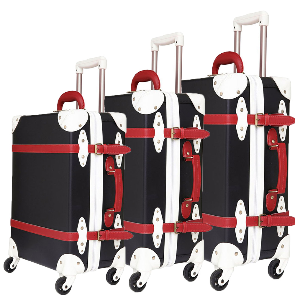 Luggage Set Suitcase Trolley Case Luggage With Wheels TSA Lock Student Large Suitcase 28 Inch PU Leather Large Capacity 3pcs