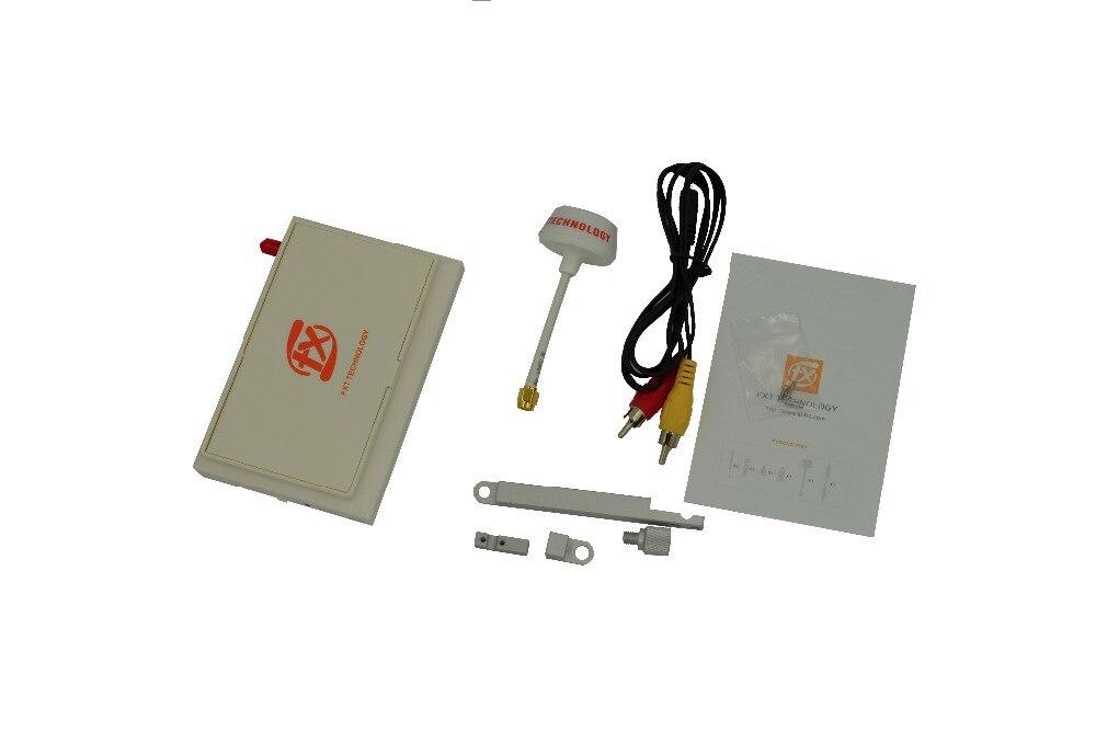 Fpv Fxt Tm moniteur 4.3 pouces Hd Lcd intégré Li Ion H batterie sans fil diversité récepteur pour avions quadrirotor Rc