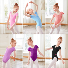 Toddler Cotton Dance Leotard Girls Bodysuit Kids Gymnastics Clothing Dancewear Costumes