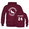 Beacon Hills Lacrosse Stilinski 24 Hoodies Sweatshirt Mens/Womens School Pullover Custom Design Winter/Spring Hoody Pullover