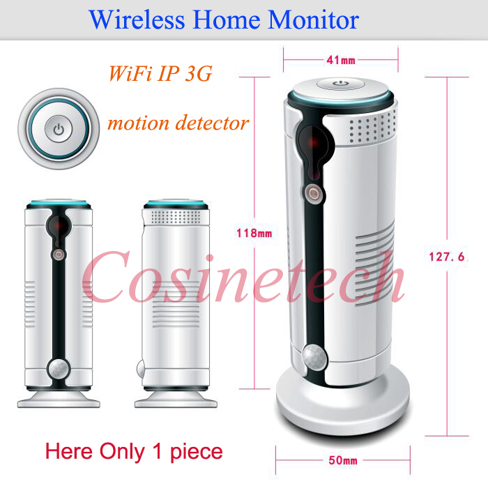 2016 New WiFi 3G camera alarm Home Monitor with IR camera HD 720P,Android&ios APP controlled auto-surveillance security camera