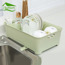 Large Kitchen Plate Dish Rack Drainer Utensil Cutlery Storage Holder Kitchen Tableware Drying Rack Dinnerware Kitchen Organizer