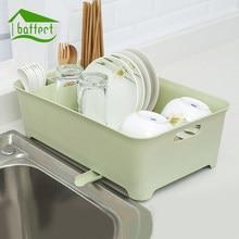 Nuevo gran plato de cocina plato taza utensilio cubiertos soporte de almacenamiento  escurridor cocina vajilla de 7373d7034ef6