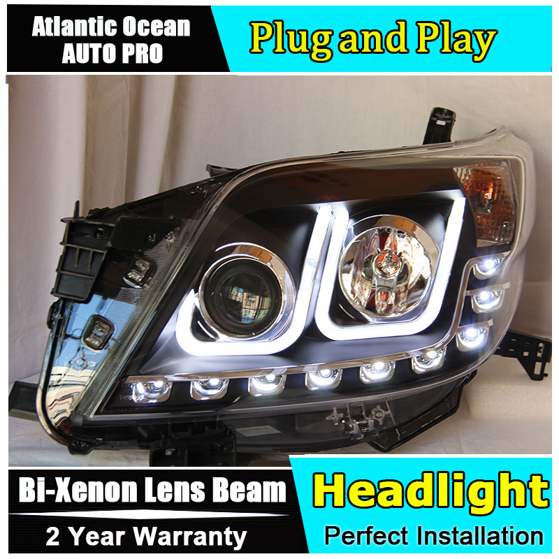 Auto Lighting Style LED Head Lamp for Toyota Prado F150 led headlights 2010-2012 led drl HID KIT LED Bi-Xenon Lens low beam auto clud style led head lamp for benz w163 ml320 ml280 ml350 ml430 led headlights signal led drl hid bi xenon lens low beam