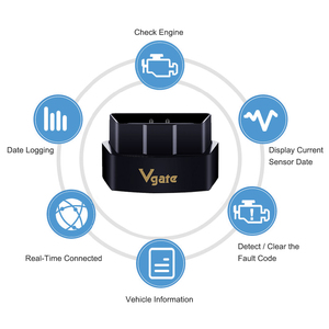 Image 3 - Vgate iCar Pro Wifi OBD2 Scanner Bluetooth Auto Diagnostic Tool ELM327 V2.1 iCar Pro Scanner For Android/IOS Automotive Sca