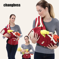 New 0 48 Months Hipseat For Newborn Multi Functional Breathable Front Facing Baby Backpack Sling Carrier