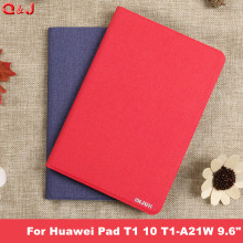 PU Leather For Huawei Media Pad T1 10 T1-A21W T1-A21L T1-A23L 9.6