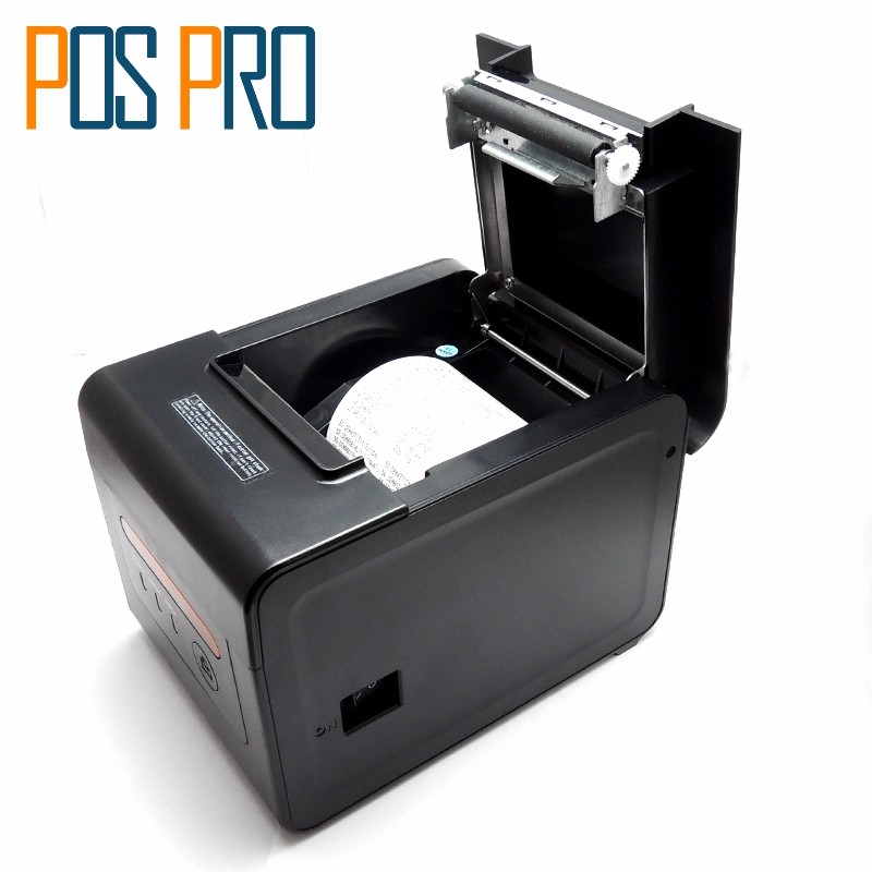 ITTP057 High Quality thermal printer 80mm,pos label printer,automatic cutter,USB+Serial+Ethernet Port,ESCPOS (6)