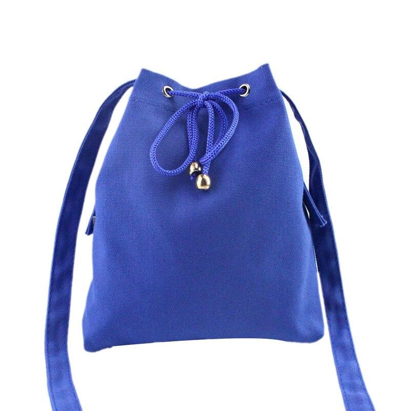 Most Popular Drawstring Handbag Canvas Shoulder Bag Large Tote Ladies Bolsa A8