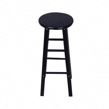 A1Nordic bar hocker moderne minimalistischen bar stuhl massivholz hause bar hocker kreative mode hohe hocker