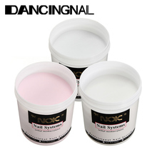 1pc 120g Pro Acrylic Powder Super BIG Size Nail Art Builder Tools Tips Clear White Pink Manicure Beauty Kit