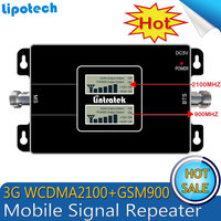 3G Ripetitore LCD Dual Band GSM 900MHz UMTS 2100MHz WCDMA Mobile Signal Booster EDGE HSPA Signal
