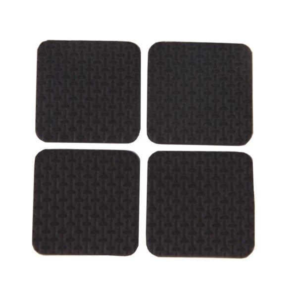 8X High Quality Black Protectors Chair Table Foot Leg Covers Floor Pads Cushion8X High Quality Black Protectors Chair Table Foot Leg Covers Floor Pads Cushion