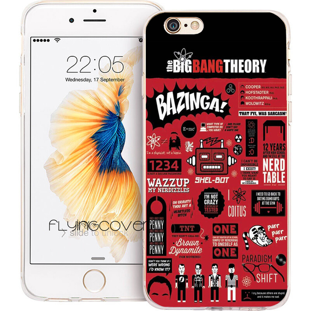 coque iphone 8 big bang theory