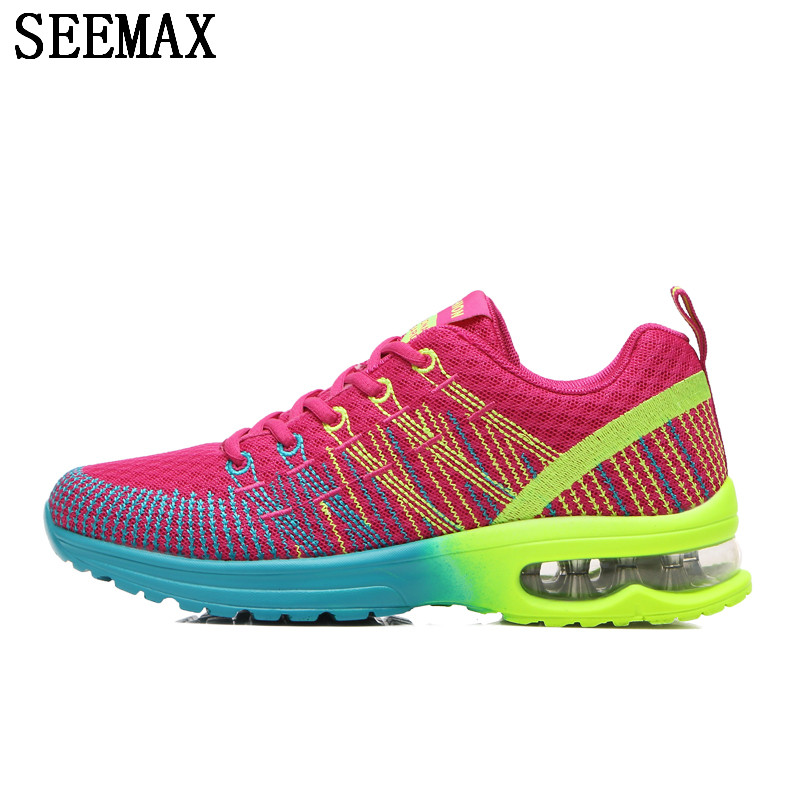 SEEMAX 20178 Newest Running Shoes Cushioning Breathable Walking Jogging Outdoor Sport Wo ...