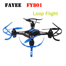 Fayee FY801 180 Degree RC Drone UFO Rotation Loop Drone RC Helicopter 3D Flight RC Quadcopter RTF
