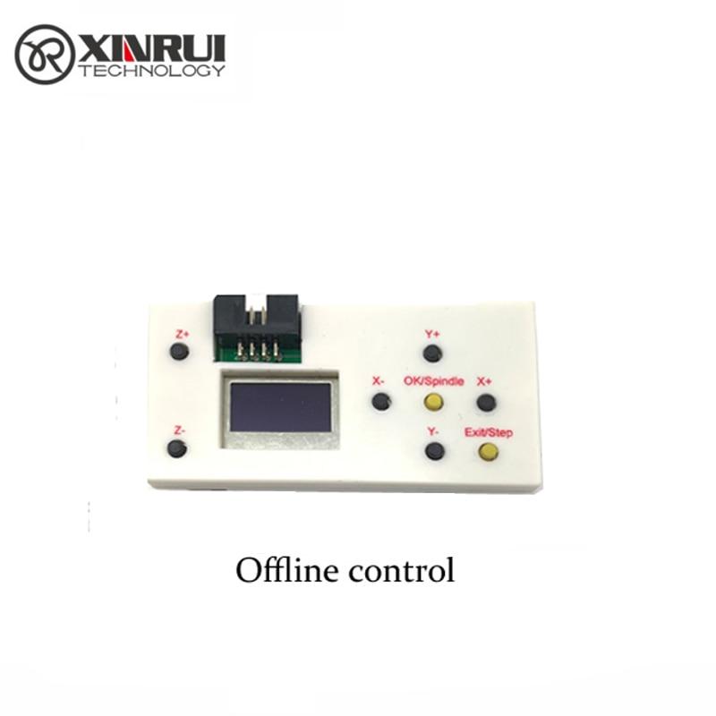 GRBL 3 Eixo CNC Controlador Offline 1 GB TF Cartão Mini Máquina de Gravação A Laser para CNC 3018 2418 1610 DIY gravador Do Laser