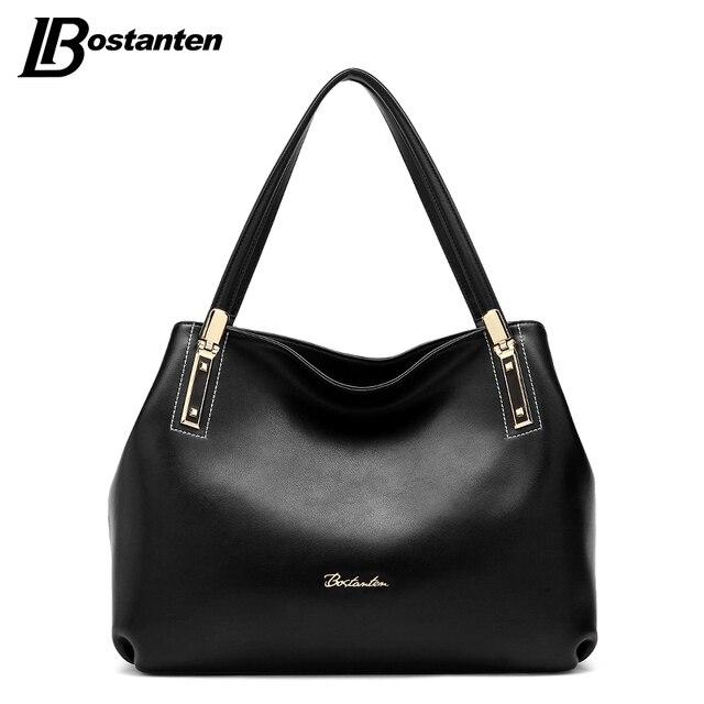 40d9584abc US $111.98 |BOSTANTEN borse Donna Elegante per le donne 2017 borse del  progettista Borsa Tracolla In Pelle Femminile Grande Capacità Borsa A Mano  ...