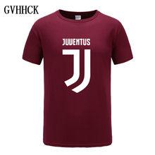 d6bce47aaad22 2018 Novo Juventus impressão Mulheres homens T Camisa curta bianconeri  Camiseta T-Shirt do clube de fãs Casuais Italiano Gianlui.