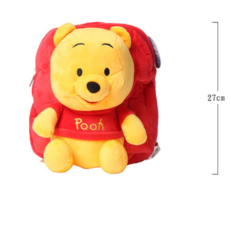 169625565ee Disney Backpack Cartoon Children Schoolbag for Kids Winnie The Pooh Lilo  Piglet Plush Safe PP Cotton Stuffed Toys mochila gift-in Plush Backpacks  from Toys ...