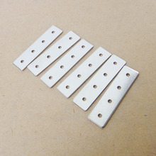 17212TW JMT 5Pcs 4 Hole Perforated Iron Sheet Iron Robot Accessories DIY Small Production Model of