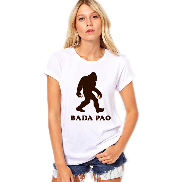 8692050f9 Women White Summer T shirt Cartoon Printed Funny Punk Style T-shirt Tops  Plus Size Harajuku Camisetas Tees Blusas XU0057