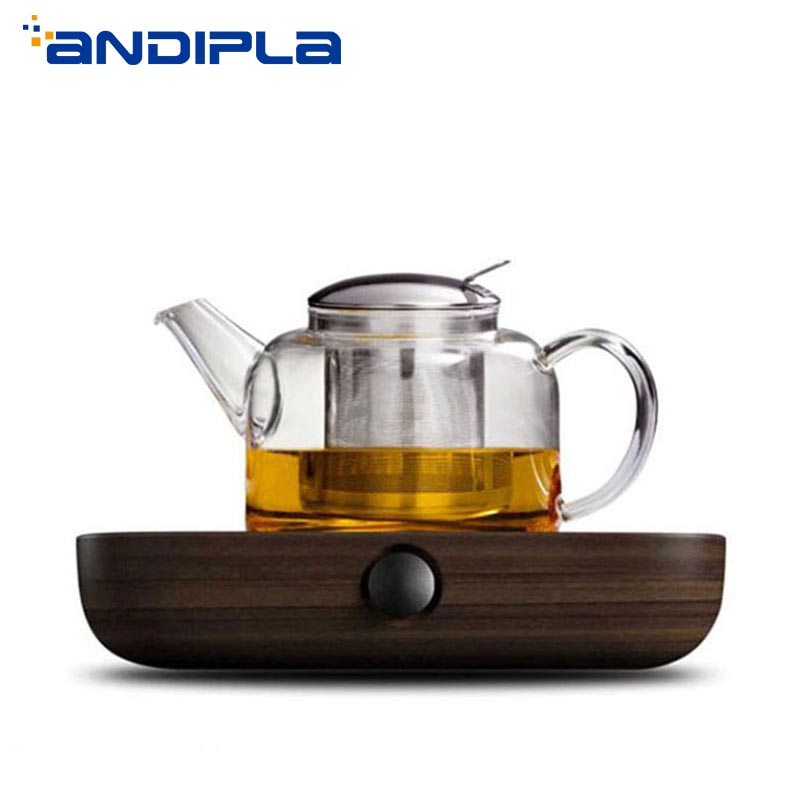 Candle Base Heater Silver Round Coffee Teapot Warmer Trivets Stainless Steel Dish Practical Terrific Value Home Appliances