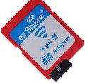 Ez compartilhar sem fio wi-fi suporte adaptador tf cartão micro sd 4 gb 8 GB 16 GB 32 GB Classe 10 Cartão de Memória MicroSD Adaptador Para A Câmera