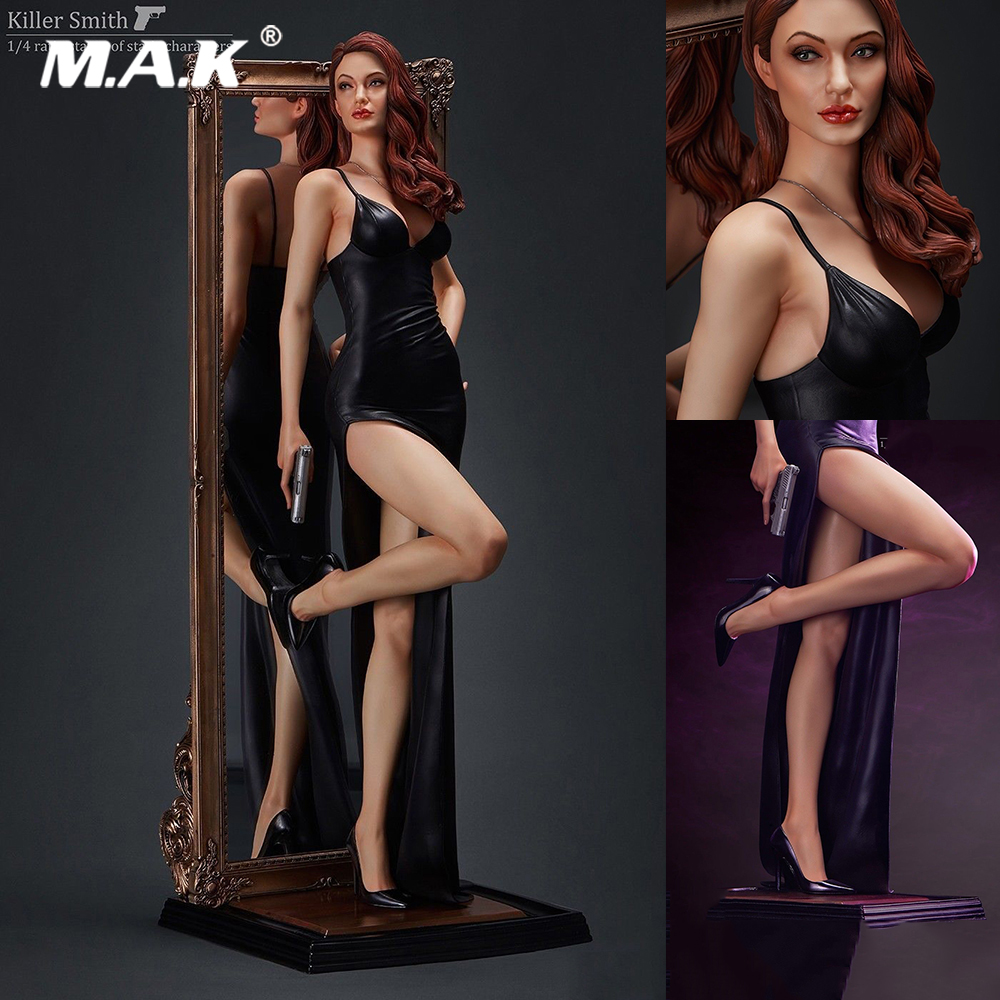 Collectible Full Set MY-00001 Killer Smith Angelina Jolie Statue 1/4 Scale Action Figure Model Toys for Gift