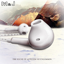 M&J Newest S7 Earphone And Headphone For iPhone Samsung Xiaomi HTC With Microphone 3.5mm Jack Bass in Ear Headset fone de ouvido