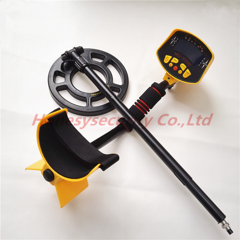 1.5m-2m Detecting Depth Under Ground Searching metal detector MD-3010II Nugget finder /Treasure Hunter md 5008 under ground metal detector gold digger coin finder treasure hunter big coil