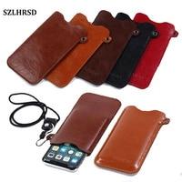 SZLHRSD Mobile Phone Case Hot Selling Slim Sleeve Pouch Cover Lanyard For Blackberry DTEK50 DTEK60 Leap