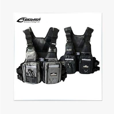 Good Quality Famous Brand Professional life vest fishing vest fishing jacket fishing tackle Bluefish floating vest