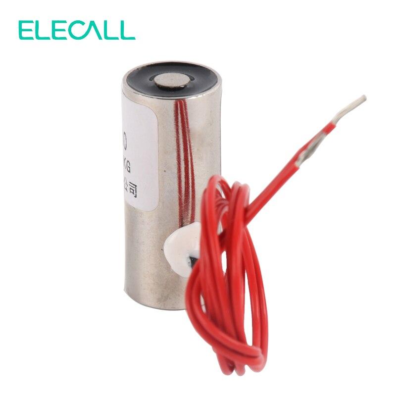 ELE-13/30 Electromagnet Electric Lifting Magnet Solenoid Lift Holding 1kg  DC 12V  цены
