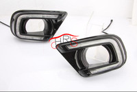 White Yellow LED Daytime Running Light DRL For Dodge Journey JCUV 2013 2015