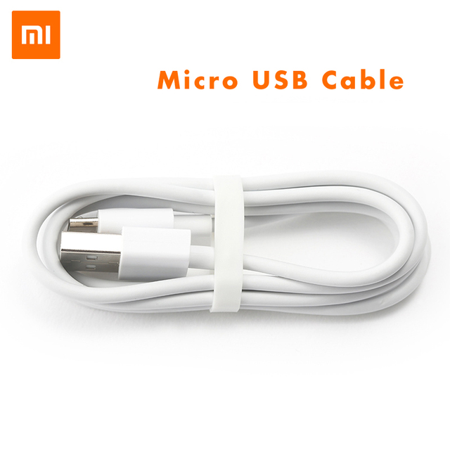 Original Xiaomi Micro Usb Cable 2A Fast Charging Sync Data Cable For Redmi 3s 4a 5a 6a 4X Note/2/3/4/4X/5 plus 6 pro A2 lite s2